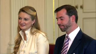 Download Le mariage civil de Guillaume et Stéphanie - couple grand-ducal héritier du Luxembourg Video