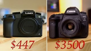 Download $447 vs $3500 - 5D Mark IV vs G7- 4K video compared! Video