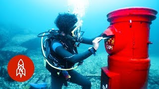 Download Japan's Post Box Under the Sea Video