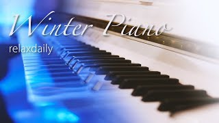 Download Relaxing Winter Piano Music 24/7: ICE PIANO - Winter Music, Christmas Music Video