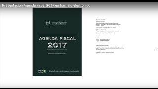 Download Presentación Agenda Fiscal 2017 en formato electrónico Video