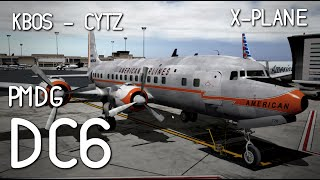 Xplane 11 Beta - more testing with IXEG 737, PMDG DC6