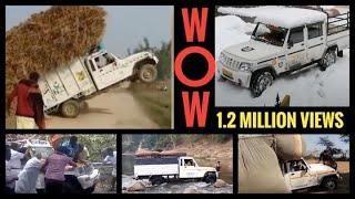 Download Mahindra Bolero pick-up strength / stunts Video