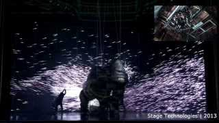 Download ″King Kong″ scene with pre-visualisation and overlay of Stage Technologies trolley Video