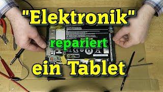 Download Reparatur eines Tablets. Video