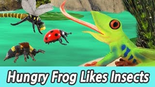 Download [EN] #69 Hungry Frog Likes Insects, kids education, Collecta figureㅣCoCosToy Video