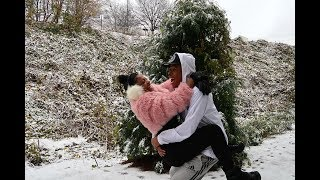 Download OUR FIRST ″REAL″ SNOW DAY TOGETHER | VLOGMAS DAY 8 Video
