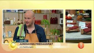 Download Den perfekta burgaren med Johan Jureskog - Nyhetsmorgon (TV4) Video