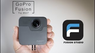 Download GoPro Fusion: How To IMPORT, EDIT, EXPORT Video with Fusion Studio - GoPro Tip #607 Video