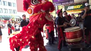 Download Chinese New Year 2016 - Choy Lee Fut Lion Dance Blessing of business I Sydney Chinatown Video