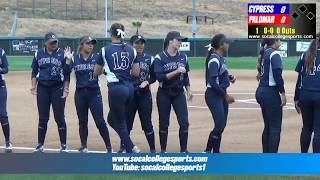 Download 2018 CCCAA Softball Finals (Gm13): Cypress vs Palomar - 5/19 - 5:30pm Video
