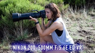 Download Ludicrous Telephoto Zoom! Nikon 200-500mm f/5.6E ED VR Review Video