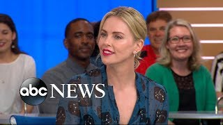 Download Charlize Theron opens up about 'Tully' live on 'GMA' Video
