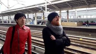 Download Bullet train passing through Koriyama station - jump to 0:58 Video