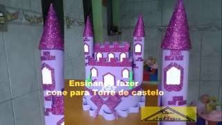 Download como fazer o coni do castelo passo a passo Video