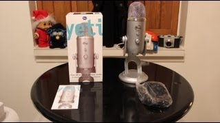 Download Blue Yeti Microphone Review + Unboxing and Full Demo Video