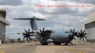 Download A400M - Llegada a Zaragoza LEZG - AeroZaragoza Spotters - Zaragoza Air Force Base Video