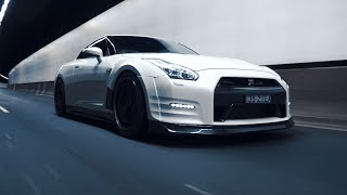Download White Knight; GT-R R35 | 4K Video