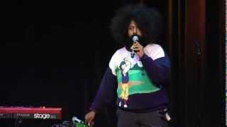 Download Hilarious, Talented Improviser: Reggie Watts at TEDxUSC 2012 Video