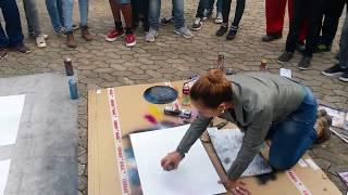 Download Amazing Spray Painting: street Artwork Video