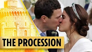 Download The Procession at Princess Eugenie's Royal Wedding Video