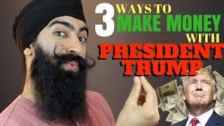 Download 3 Ways To Profit From Trump Presidency - Where To Invest With Trump | Minority Mindset - Jaspreet Video