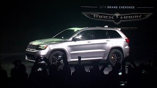Download 2018 Jeep® Grand Cherokee Trackhawk Reveal Highlights Video