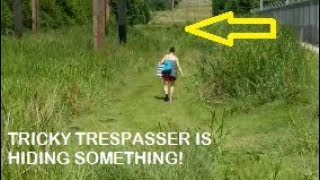 Download Tricky Trespasser Confronts Me!?! WAIT UNTIL YOU SEE WHAT SHE IS HIDING! Video