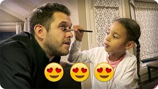 Download TODDLER DOES DADDY'S MAKEUP?! 👀 😂 😍 Video