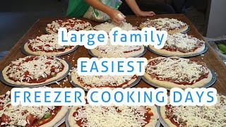 Download Large Family SIMPLIFIED FREEZER MEAL COOKING for the SUMMER Video