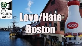 Download Visit Boston - 5 Things You Will Love & Hate about Boston, USA Video
