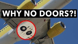 Download Why does the Boeing 737 not have any landing-gear doors? Video