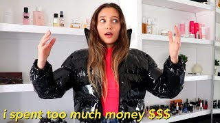 Download spending money on clothes I don't need (huge try-on clothing haul) Video