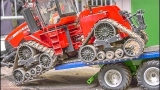 Download Stunning RC Tractors work hard! Awesome farming in 1/16 scale! Video
