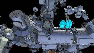 Download U.S. Spacewalk 48 Animation (Feb. 16, 2018) Video