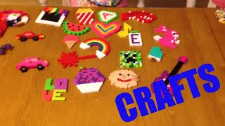 Download PERLER BEAD CRAFT CREATIONS! HOMEMADE AND CRAFTY! Video