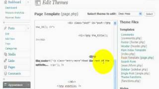 Download Video Wordpress hack: Changing the Read More tag Video