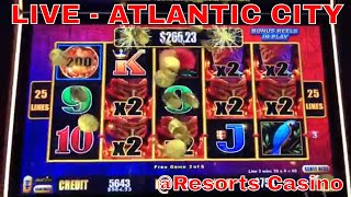 Download 🔴LIVE from Atlantic City Casino - Brian Christopher Slots at RESORTS Video