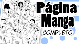 Download Página de Manga con photoshop | Cómo dibujar Manga Video