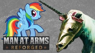 Download Deadly Pony Chamfron (My Little Pony: Friendship Is Magic) - MAN AT ARMS: REFORGED Video
