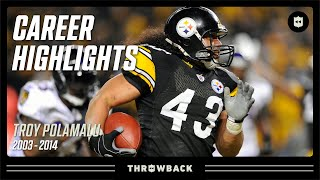 Download Troy Polamalu's UNREAL Career Highlights | NFL Legends Video