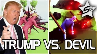 Download TRUMP VS DEVIL!! - ″ASSAULT ON HELL!″ - Totally Accurate Battle Simulator - TABS Gameplay Video