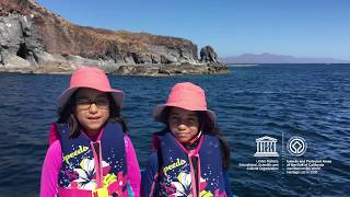 Download Valentina & Itzayana #MyOceanPledge Islands and Protected Areas of the Gulf of California Video