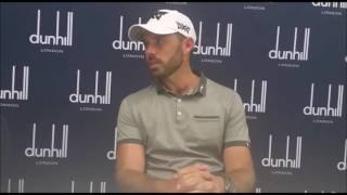 Download Charl Schwartzel after the first round of Alfred Dunhill Championship at Leopard Creek Video