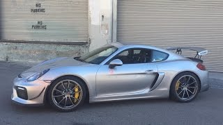 Download 415 HP Porsche Cayman GT4 by Sharkwerks - One Take Video