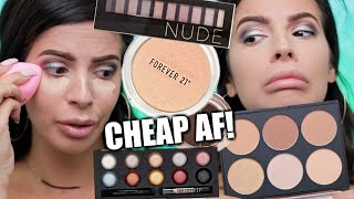 Download FOREVER 21 MAKEUP FIRST IMPRESSIONS | HIT OR MISS? Video