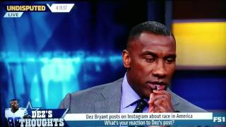 Download Shannon Sharpe on Dez Bryant's post on race in America Video