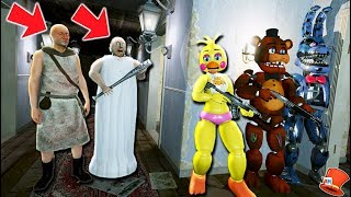 Download CAN THE ANIMATRONICS HIDE FROM GRANPA & GRANNY! (GTA 5 Mods For Kids FNAF RedHatter) Video