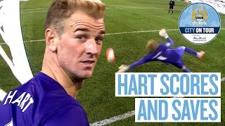 Download Joe Hart Scores and Saves Penalty v Roma Video