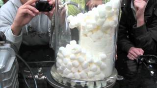 Download 400 Marshmallows in a Vacuum Video